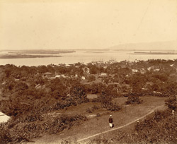 View from Allandine Pagoda [Moulmein]